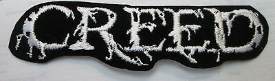 Creed Collectable Rare Vintage Patch Embroided 90's Metal Live