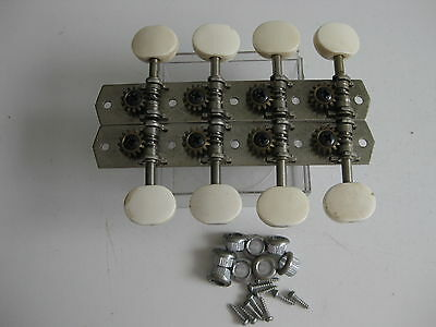 Vintage Suzuki Kingston Sekova Mandolin Tuners Pegs Set for Project / Repair