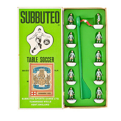 Vintage Subbuteo Coventry City Football Team. REF 206. Boxed. 00 Scale