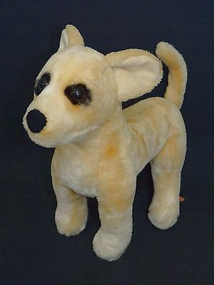 "Melissa & Doug Chihuahua Puppy Dog Plush Stuffed Animal 14"" Golden Tan #4851"