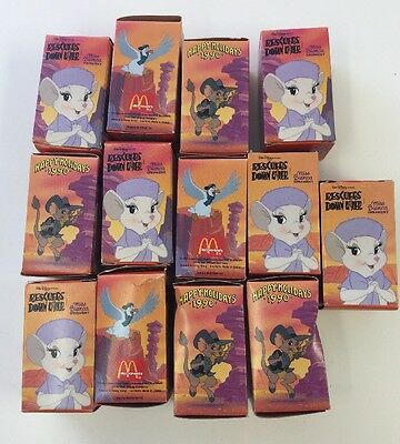 Walt Disney Pictures Rescuers Down Under Miss Bianca Ornaments 1990 Lot Of 13