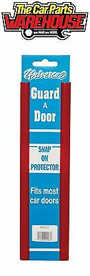 "PAIR OF 12 "" RED Door Guard Snap On Strip Car Protectors GD43/12"
