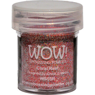 WOW! Embossing Powder 15ml-Coral Reef