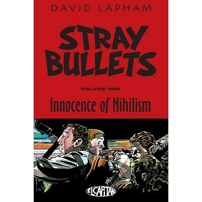 Stray Bullets Innocence of Nihilism Paperback - Brand new!