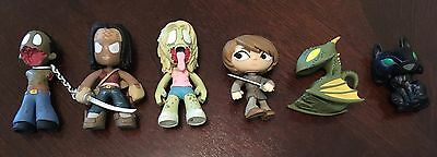 Funko Mystery Minis Lot of 6 - Game of Thrones and The Walking Dead