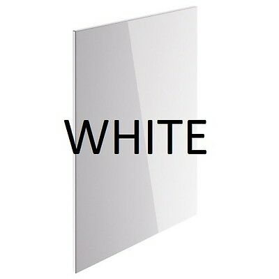 **new** Vivo White Spray Lacquered Quality Replacement Kitchen Door 550Mm