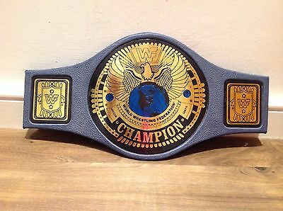 RARE 1998 WWE WWF HEAVYWEIGHT ATTITUDE CHAMPIONSHIP WRESTLING BELT USED Rock dx