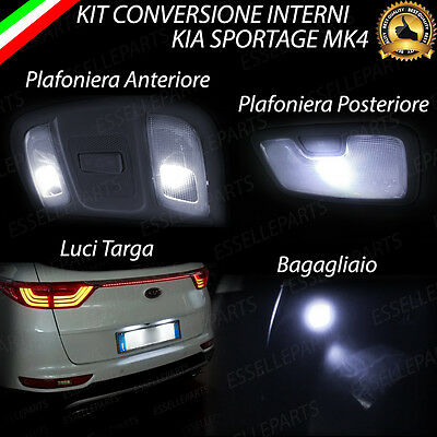 CANBUS SENZA TETTO APRIBILE TARGA QASHQAI J11 RESTYLING 2018 KIT LED INTERNI
