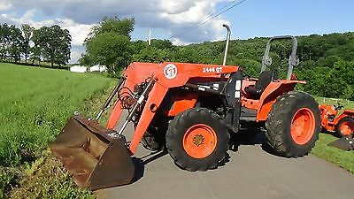 2003 Kubota M5700 4X4 Tractor With Loader