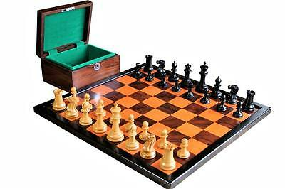 Fabulous Antique Reproduction Chess Set Combination