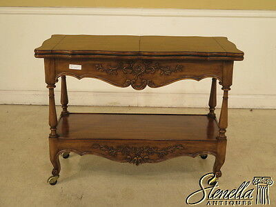 40216E: KARGES French Style Flip Top Walnut Server