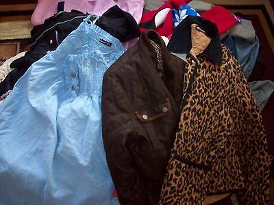 Job Lot Wholesale Women's Clothing Used Mixed Size (60+ items)