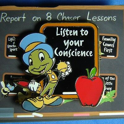 Jiminy Cricket Artist Proof Genearation D Disney Life Lessons Mystery Pin AP