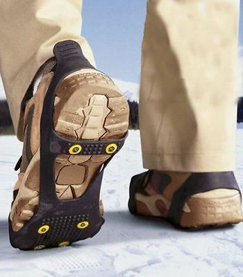 ANTI SLIP ICE SNOW GRIPPERS FOR OVER BOOTS ,SHOES GRIPS Alps Training camp