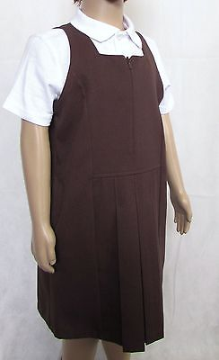Wholesale M&S 22 x Pinafore Dress NEW Brown Age 5 to 8 Years