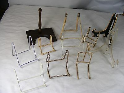 Lot of Miscellaneous Plate Holders (B)