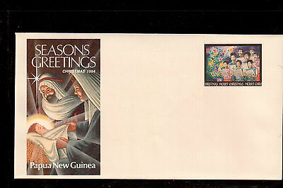 Papua New Guinea 1994 Mint Postal Stationary Cover, Seasons Greetings !!2