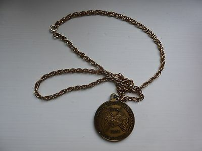 The Minuteman 1976 US Bicentennial Medallion and Chain