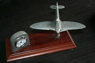 Royal Hampshire Art Foundry Battle of Britain Anniversary Pewter Spitfire