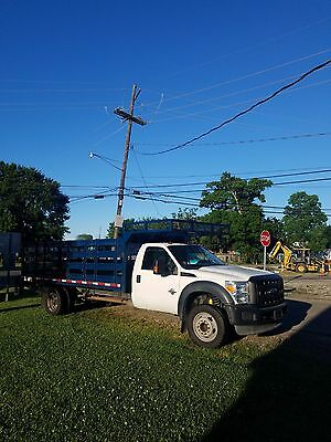 2011 Ford F550, 16' stake bed, Factory New 6.7 Liter Engine