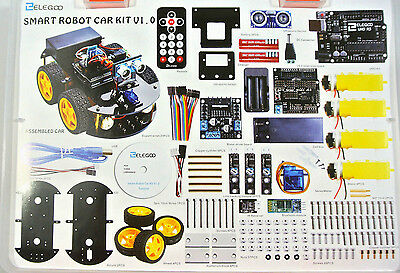 Elegoo Arduino Project Smart Robot Car Kit with Four-wheel Drives, UNO R3