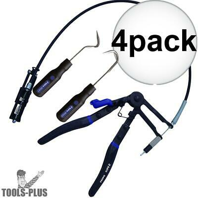 Astro Pneumatic 9409AG 4pk Hose Clamp Pliers + 4x 2pc Hose Removal Hook Set New