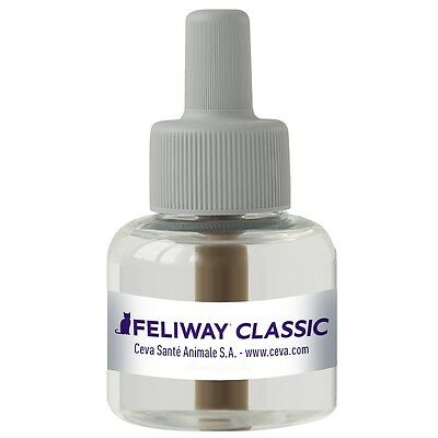 #Feliway Classic Pheromone Diffuser Refill 48 ml Cat Stress Reducing 066096