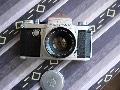 ASAHI PENTAX S (1958)  NEAR MINT VERY RARE! MUST HAVE FOR A.O.Co. COLLECTORS.