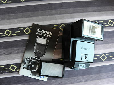 Canon Flash Speedlite 199A In Exc++ Condition + Manual