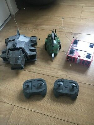Robot Wars Remote Control Growler Tornado & Sgt Bash Spares Not Working