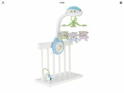 Fisher-Price Butterfly Dreams Projection Mobile Playset Baby Nursery Toys Music
