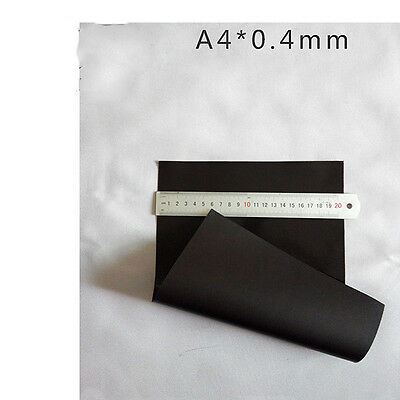 1pc A4 Non-Adhesive & Self Adhesive Magnetic Sheets 0.4mm Flexible Soft Magnet