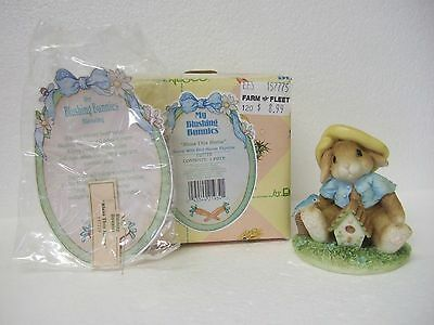 Blushing Bunnies - Bless This Home   Mib