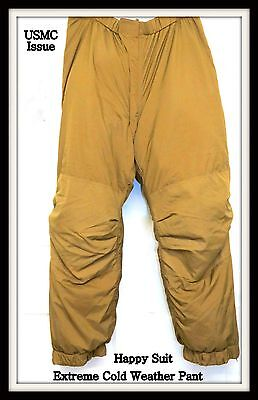 NWOT USMC Issue Extreme Cold Weather Happy Suit Pants Size Small Short