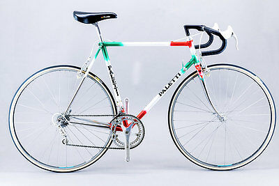 Paletti Classic Road Bike 55.5cm Campagnolo C-Record Columbus SLX Made In Italy