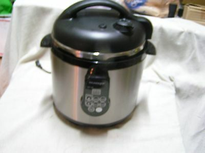 Vintage Technique Stainless Steel  Electric 6.5 Pressure Cooker  Restaurant Equi