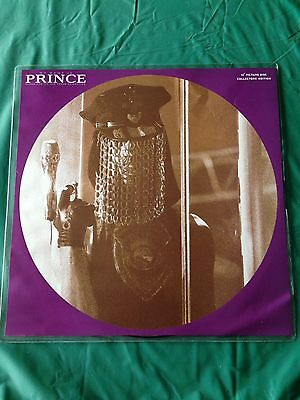 Prince My Name Is Prince 12'' Rare Picture Disc Vinyl UK Top Copy