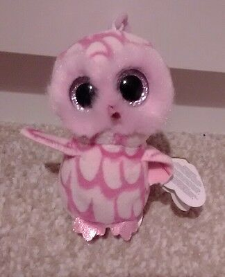 Ty beanie boo keyring.  Pinky Owl