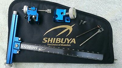 Shibuya Ultima Carbon Sight Recurve Blue