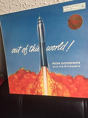 """out Of This World!"" Gold/black ((Stereo)) Parlophone! 1958 G. Martin Prod!"