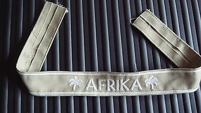 WW2 German Afrika Korp Cuff Title (Reproduction)