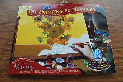 Reeves Oil Painting by Numbers- The Masters Collection - Sunflowers