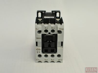 TECO CU-11 Magnetic Contactor, 24V coil, 3A1a, Normally Open, (TAIAN CN-11)