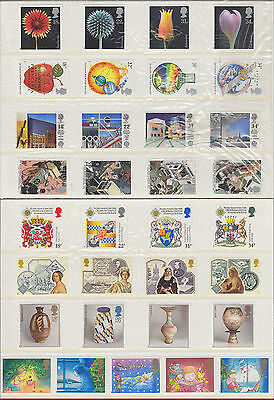 1987 Complete Year (8 sets) commemoratives mint MNH (sealed)