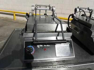 Star Electric Panini Smooth Flat Grill Surface GR14B