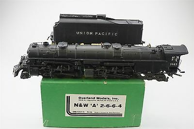 S Gauge BRASS OMI Overland 1727/S N&W 2-6-6-4 Class A CUSTOM UP Union Pacific