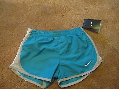 Youth Size 6X Nike Dri-Fit Current Blue Athletic Shorts W/brief. Nwt. Msrp $25