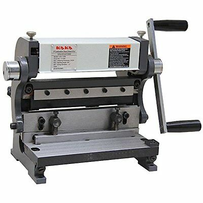 KAKA Industrial 8-In Sheet Metal Brake, 3-In-1 Shear Brake Roll Combinations