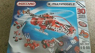 New And Sealed Meccano Multimodels (30 Models) Construction Set Number 7530