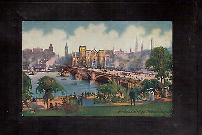 Australia Vintage Unused Postcard, Prince's Bridge, Melbourne !!